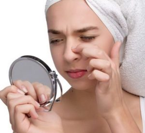Искривление перегородки носа