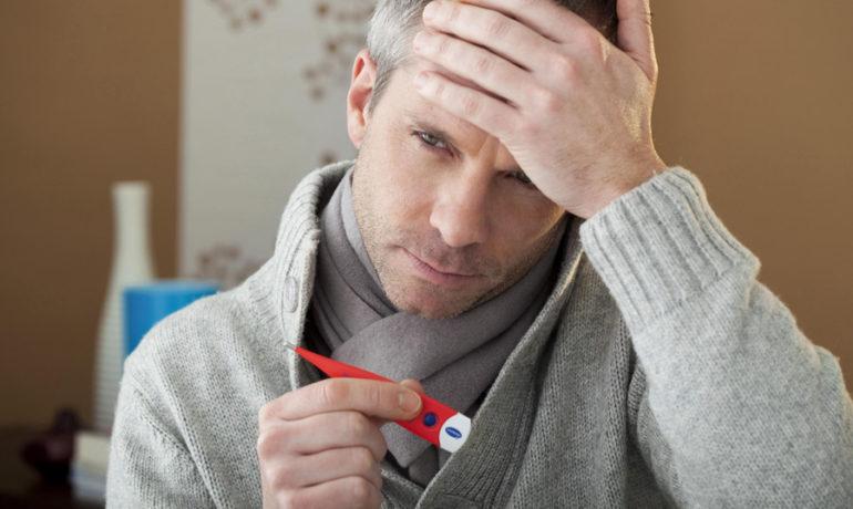 длительная температура на фоне невроза